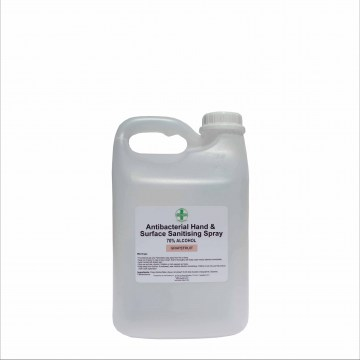 2L anitbacterial hand and surface sanitiser spray4