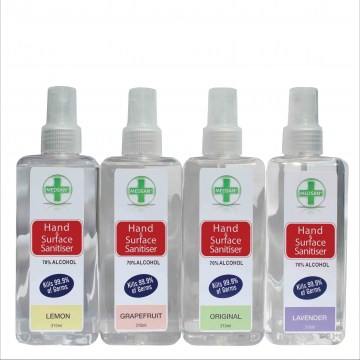 310ml anitbacterial hand and surface sanitiser spray1