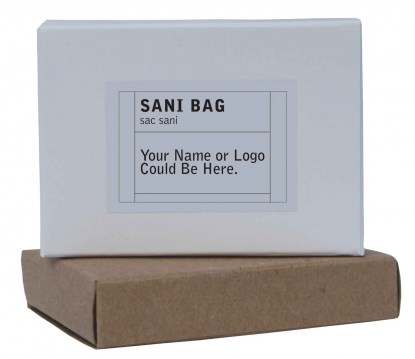 black petal boxed accessories sani bag