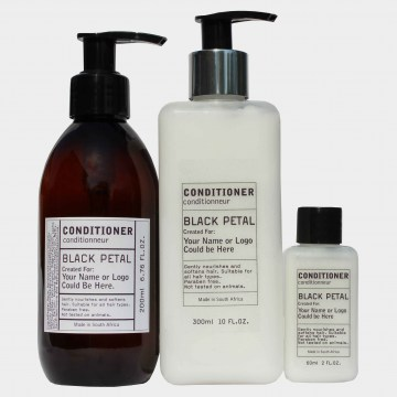 black petal conditioner guest amenities