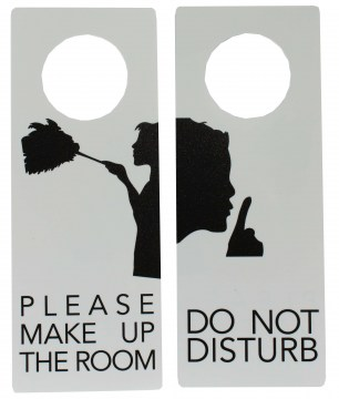 door hangers with image web