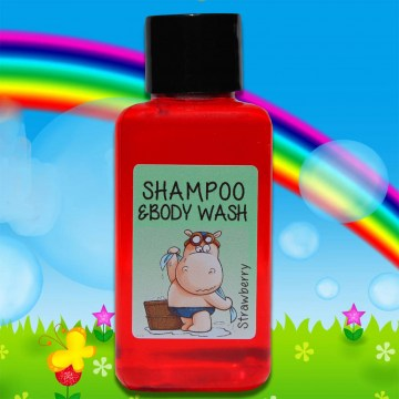 kiddies shampoo and body wash 60ml bottle guest amenities