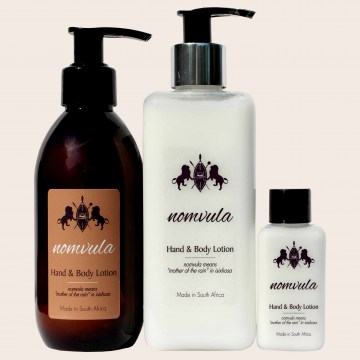 nomvula hand & body lotion guest house toiletries