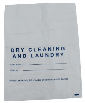 plastic laundry and dry cleaning bag web