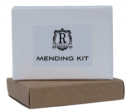 reserve boxed accessories mending kit