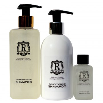 reserve conditioning shampoo guest amenities