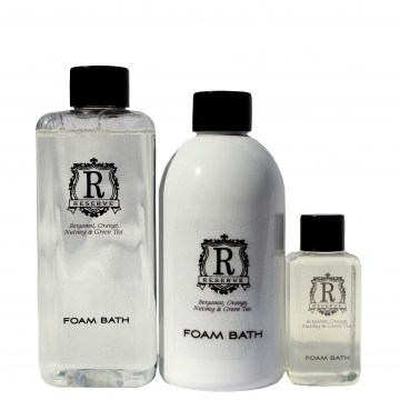 reserve foam bath guest amenities