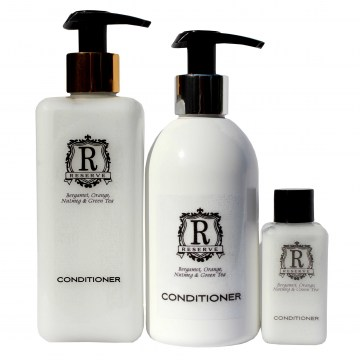 reserve hair conditioner toiletries amenities