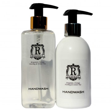 reserve handwash hotel toiletries