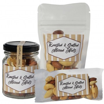 roasted salted nuts hotel snacks and sweets