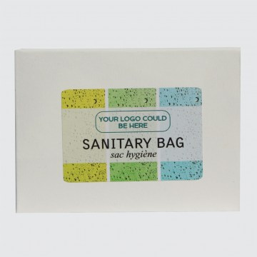 signature body spa sanitary bag guest accessories