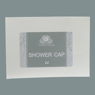 vanilla ylang boxed shower cap guest accessories